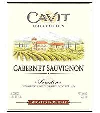 Cavit Cabernet Sauvignon 750ml - Case of 12